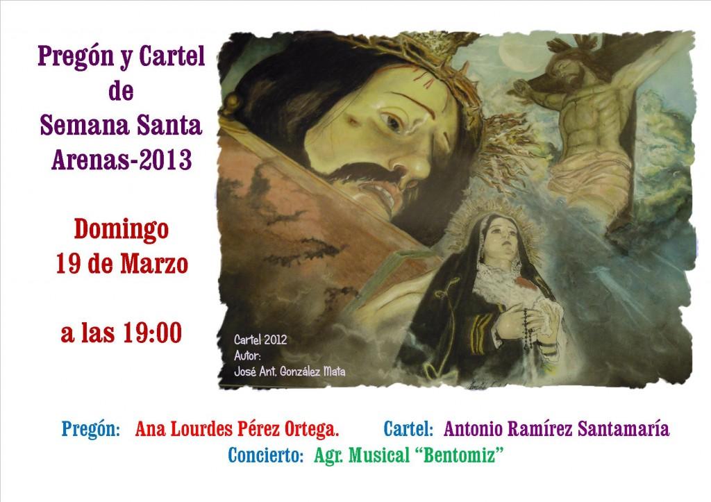 Cartel Pregon-2013